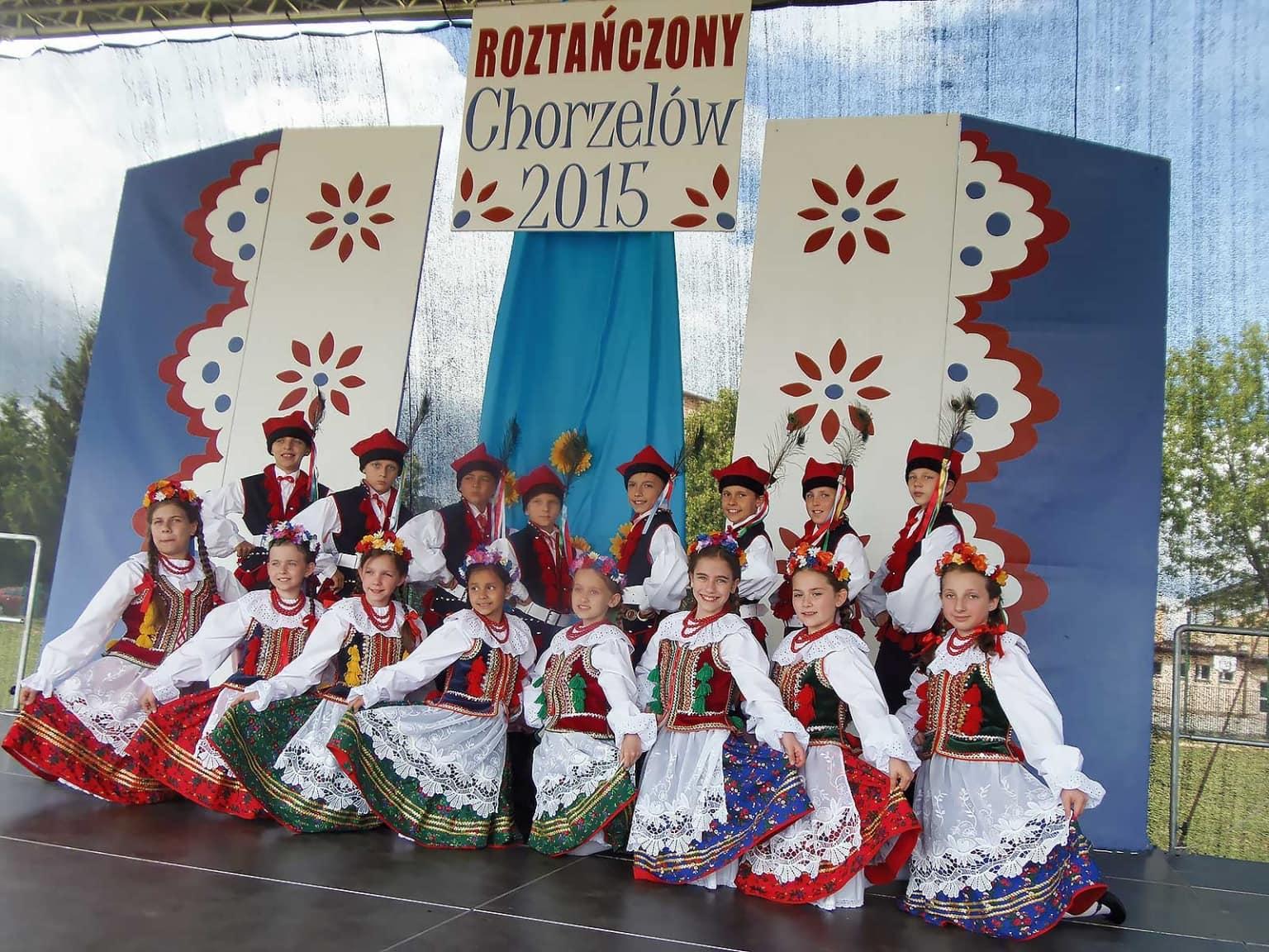 """VIII Podkarpacki Jarmark Ludowy """"Roztańczony Chorzelów"""", Chorzelów 2015 r."""
