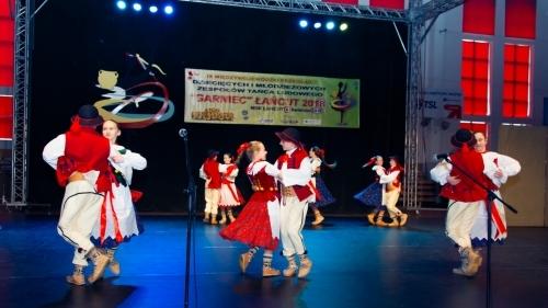 """IX Międzywojewódzki Przegląd Dziecięcych i Młodzieżowych Zespołów Tańca Ludowego """"Garniec"""" 2018"""